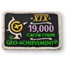 19000 Finds Geo-Achievement Patch